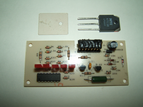 PC Board with Transistor & Shield for BHTU & BHT,#JC100